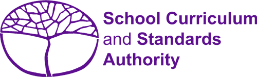 School Curriculum and Standards Authority logo